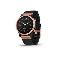 Смарт-часы Garmin Fenix 6S - Rose Gold-tone with Heathered Black Nylon Band, фото 1