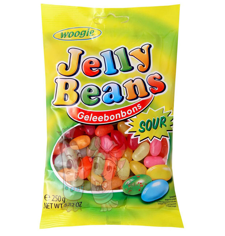 Конфеты Woogie Jelly Beans Sour 250 гр. Австрия