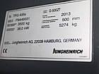 Вилочный погрузчик JUNGHEINRICH модель TFG 435s G500ZT GETR 2013 г.в., фото 2