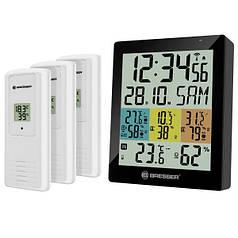 Термометр-гигрометр Bresser Temeo Hygro Quadro DLX Black