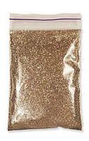 Глиттер бронза светлая 1 кг. 1/128. (0,2 мм)  (блестки, песочек)
