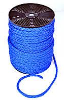 Верёвка нетонущая, 12мм, 100м, синяя , фото 1