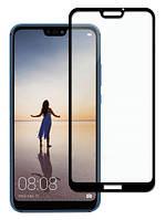 Защитное стекло Full Cover Huawei P20 Lite, Black