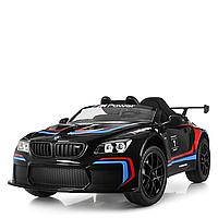 Детский электромобиль BMW M6, led-подсветка днища, включение фар отдельно, амортизаторы 4шт., ручка, колесики