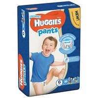 Трусики  Huggies Pants для мальчиков 6 (15-25 кг), Mega Pack 30 шт.