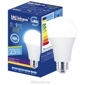 Лампа ЛЕД світлодіодна, 20Вт, Холодно-біла, ТМ Іскра