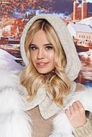 Модный шарф-капюшон женский крупной вязки в 8ми цветах 4717, фото 1