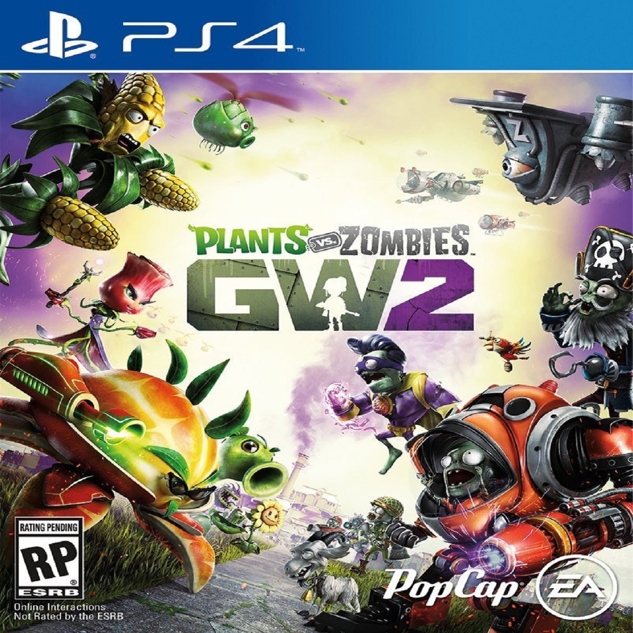 Plants vs Zombies Garden Warfare 2 ENG PS4 (NEW)