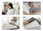 Клиновидная подушка большая 49*73*12, фото 4