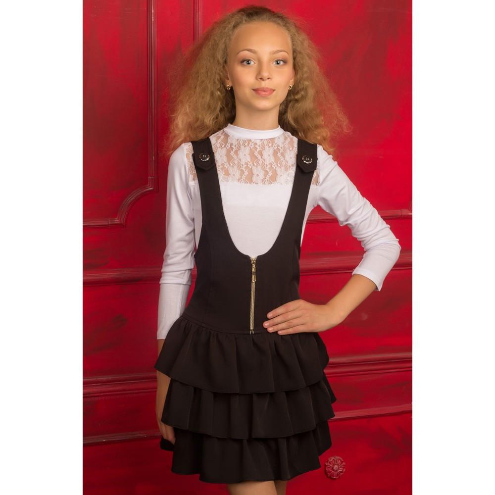 Белая блузка для девочки купить в интернет магазине