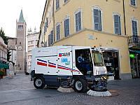 Конвейерно-вакуумная уборочная машина DULEVO 5000 ZERO