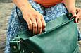 """Сумка універсальна жіноча шкіряна на плече """"Verona"""", фото 4"""
