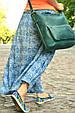 """Сумка универсальная женская кожаная на плечо """"Verona"""", фото 2"""