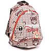 """Детский  рюкзак """"Dolly""""  с мягкой спинкой и веселым принтом"""