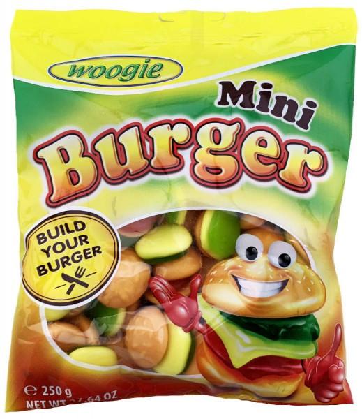Конфеты Woogie Mini burger 250 гр. Австрия