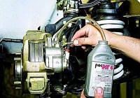 Прокачка тормозной системы с заменой жидкости