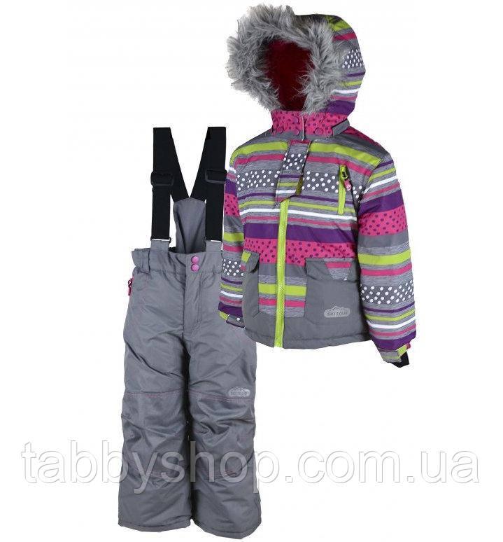 """Термокомбинезон лыжный зимний PIDILIDI """"Снежок"""" для девочки. Размеры: 158/164"""