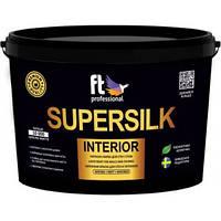 Латексная краска для стен и потолков FT Professional Supersilk Interior 3 л