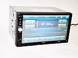 "Автомагнитола 2din Pioneer 7012B 7"" Дюймов Экран - Bluetooth + Пульт + Камера Заднего Вида, фото 3"