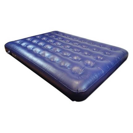 Матрас надувной Highlander Double 180x135x20 Blue, фото 2