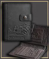 """Кожаный бумажник водителя """"DOCUMENTS"""""""