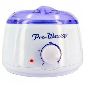 Воскоплав Pro-wax 100 для воска в банке Белый