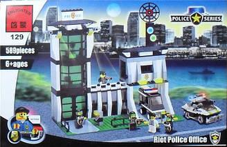 Конструктор Brick 129 Полицейский участок 589 деталей