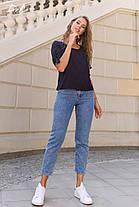 Легкая блуза в мелкий горошек, фото 2