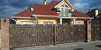 Кованные автоматические ворота , фото 1