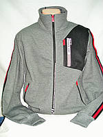 Кофта-толстовка мужская спортивная P&L на длинной молнии M,L,XL,2XL