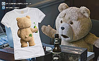 """Футболка с принтом """"Мишка Ted"""""""