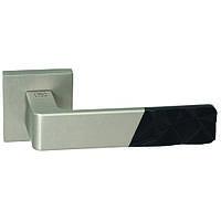 Ручки для дверей Emporio SCALA перламутровий нікель/ чорний