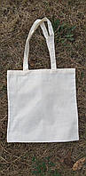 Еко-сумка без принта не вибілена бязь