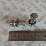 Болт карданний ЗІЛ КАМАЗ, ПАЗ М14х1,5х38 (Рославль) (В ЗБОРІ з гайкою і гровером) (301028-П29 СБ (РААЗ)), фото 2