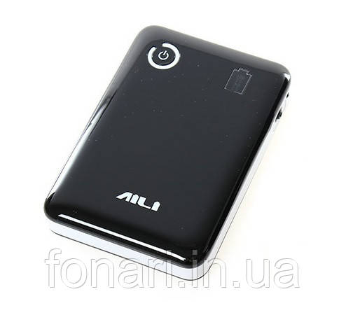 Power Bank AILI Dual USB, 4x18650 Black, ток 2A