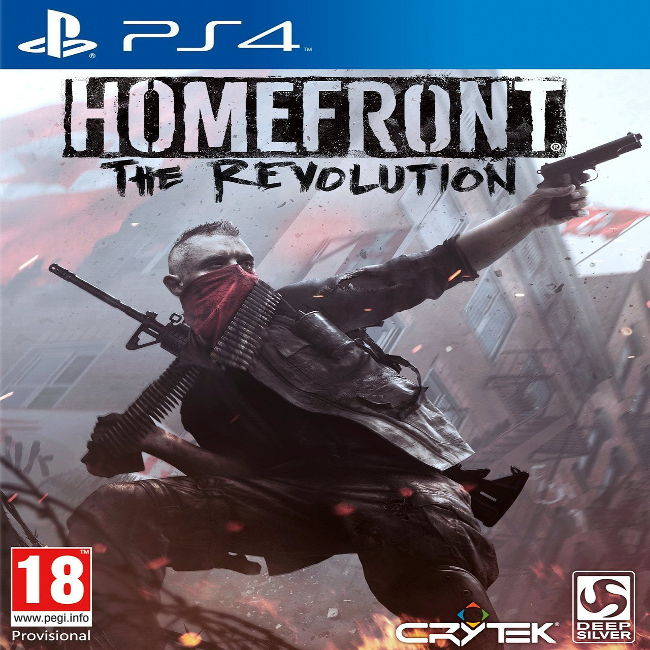 Homefront: The Revolution PS4 RUS