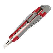 Нож канцелярский 9мм Axent 6701-A + 2 запасных лезвия
