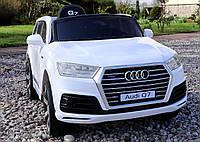 Детский электромобиль Audi Q7 - JJ2188: кож.сидение и колеса EVA