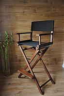 Стул для визажиста, складной, деревянный, стул режиссера, стул для фото сессии.
