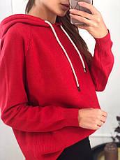 Женское трикотажное худи с капюшоном, фото 2