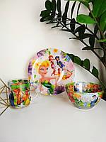 Детский набор посуды Фея из 3-х предметов