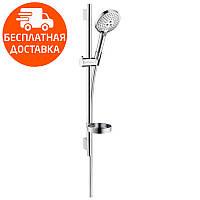 Душевой набор со штангой 0,65 м Hansgrohe Raindance Select S 120/Unica S Puro 26630000 хром, фото 1