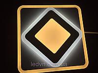 Потолочный квадратный светодиодный светильник, фото 1