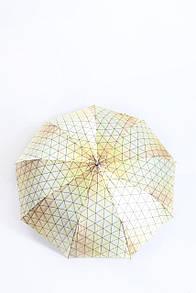 Милый зонтик в треугольники