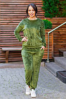 Женский спортивный костюм  ПО623 (бат)