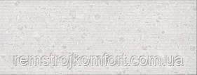 Плитка для стены InterCerama Techno светло-серая рельеф 23х60