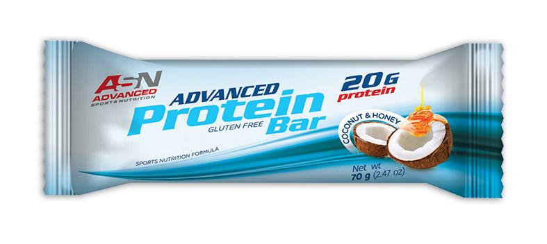 Протеиновый батончик ASN Protein 70g Вкус: Кокос и мед