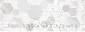 Плитка для стены InterCerama Techno светло-серая рисунок 23х60