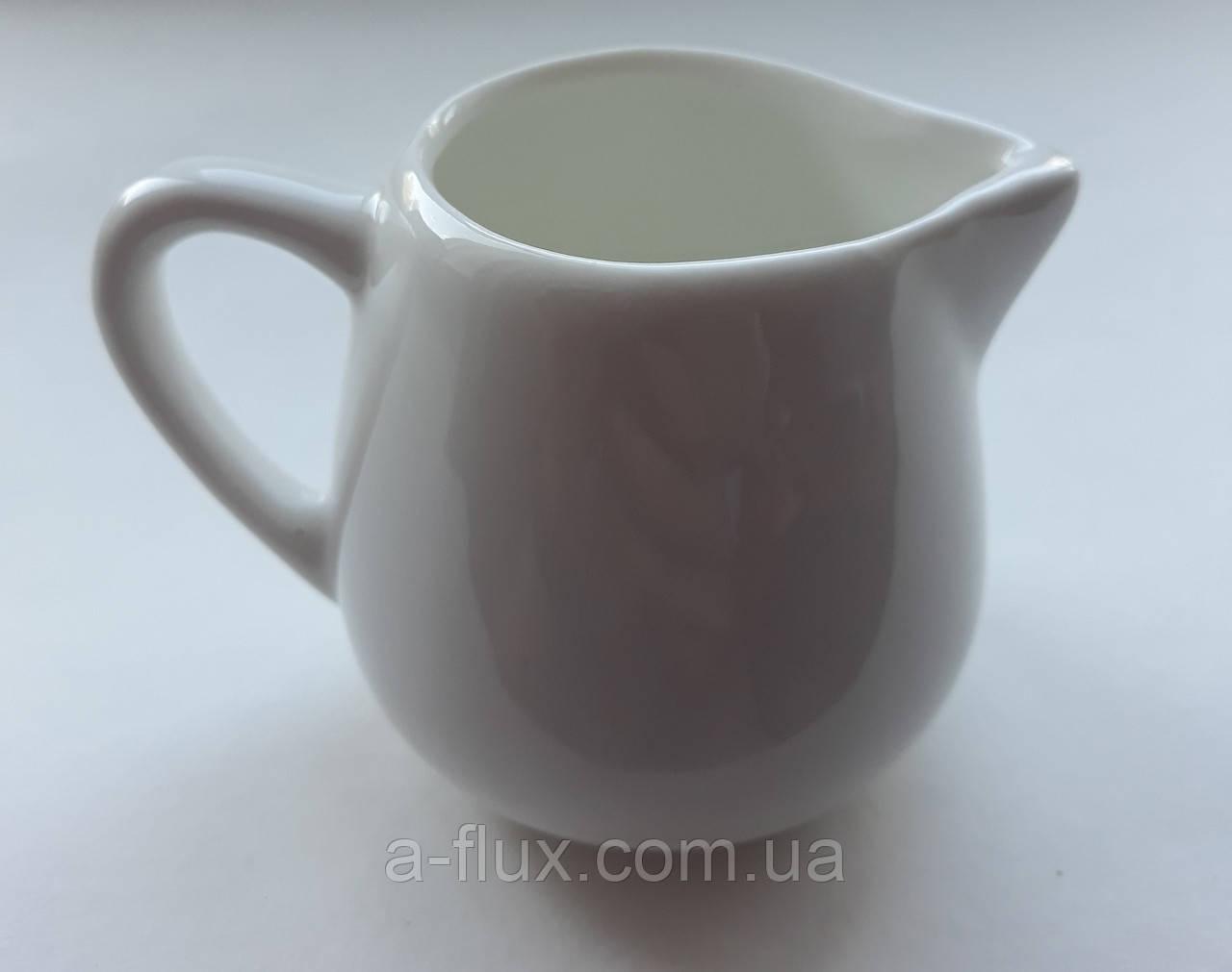 Молочник 80 мл фарфор белье Китай 0263Б