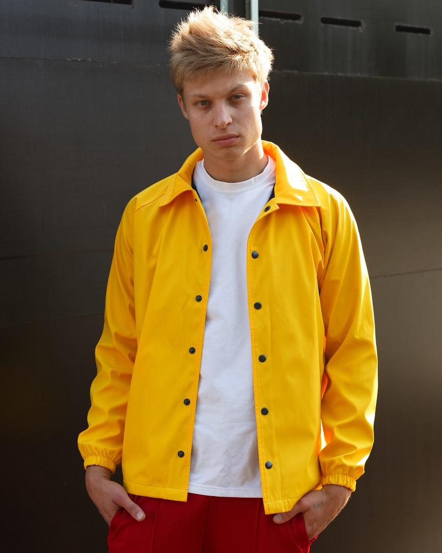 Ветровка мужская желтая Брэддок (Braddock) от бренда ТУР